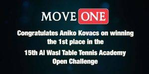 Move One Dubai : Aniko-Winning